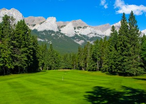 Golf's Opening Day for Canadian Rockies Golf Courses and Canmore Golf & Curling Club in the Canadian Rockies